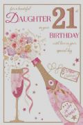 Daughter 21st Birthday Card